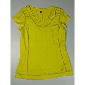 REI Shirt Size Large Short Sleeve Spandex Mesh